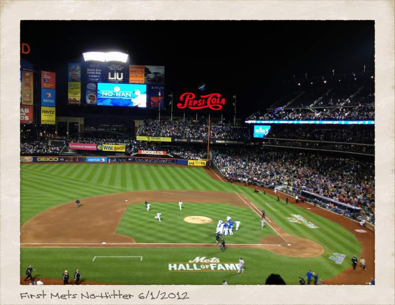Seating view for Citi Field Section 326 Row 4 Seat 9