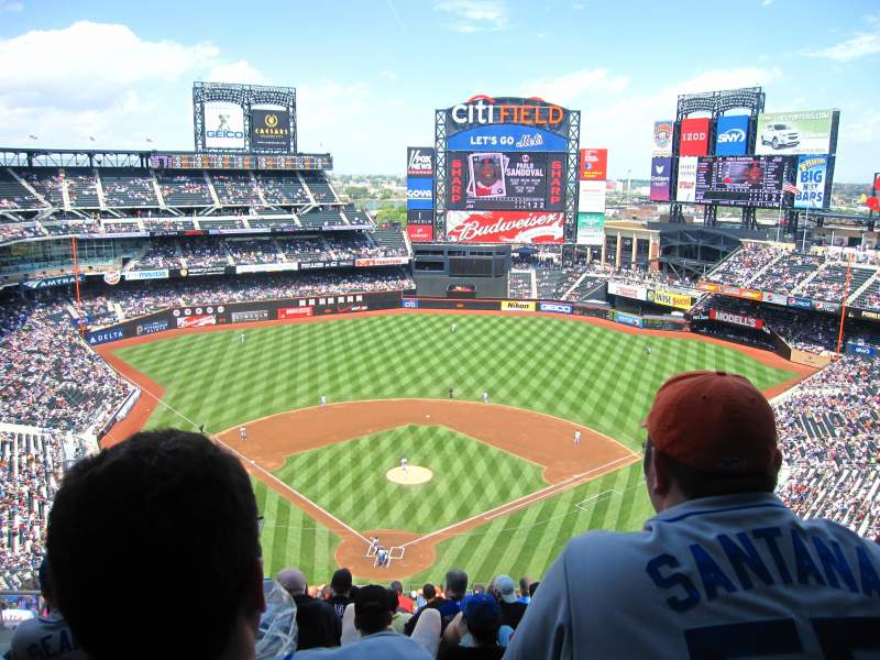 Seating view for Citi Field Section 513 Row 13 Seat 13