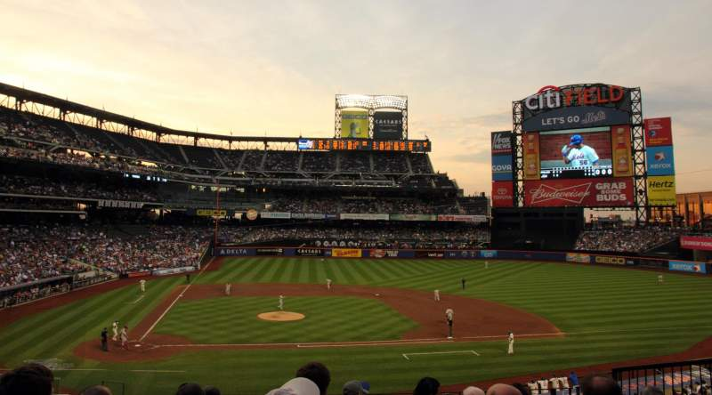 Seating view for Citi Field Section 115 Row 7 Seat 5