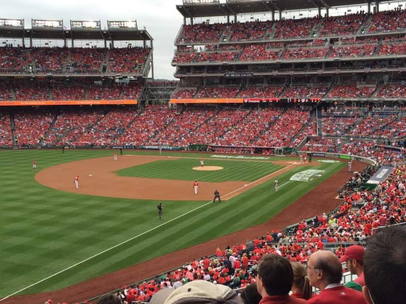 Seating view for Nationals Park Section 202 Row E Seat 10