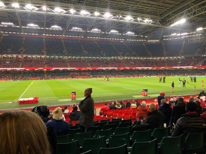 Seating view for Principality Stadium Section L11 Row 17 Seat 22