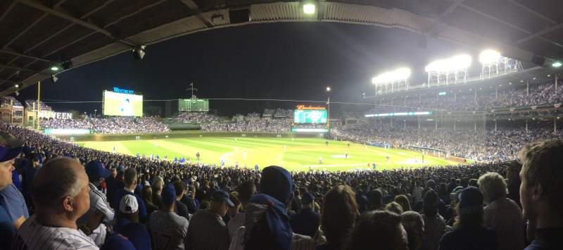 Seating view for Wrigley Field Section 212 Row 8 Seat 7