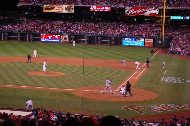 Seating view for Citizens Bank Park Section 123 Row Standing R