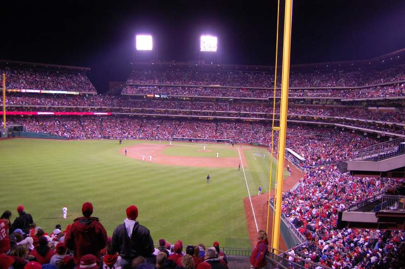Seating view for Citizens Bank Park Section 241