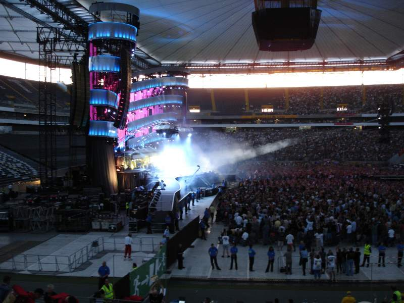Seating view for Commerzbank-Arena Section 40B
