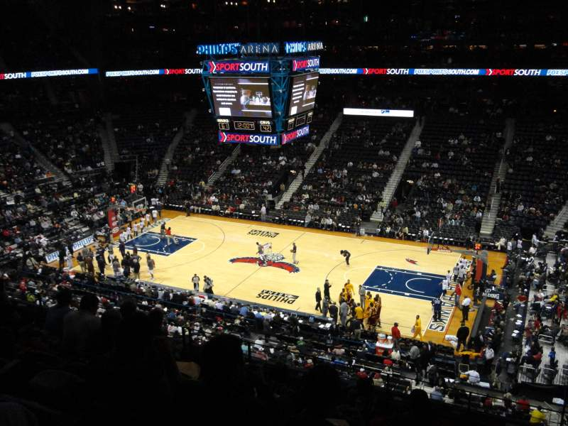Seating view for Philips Arena Section 310