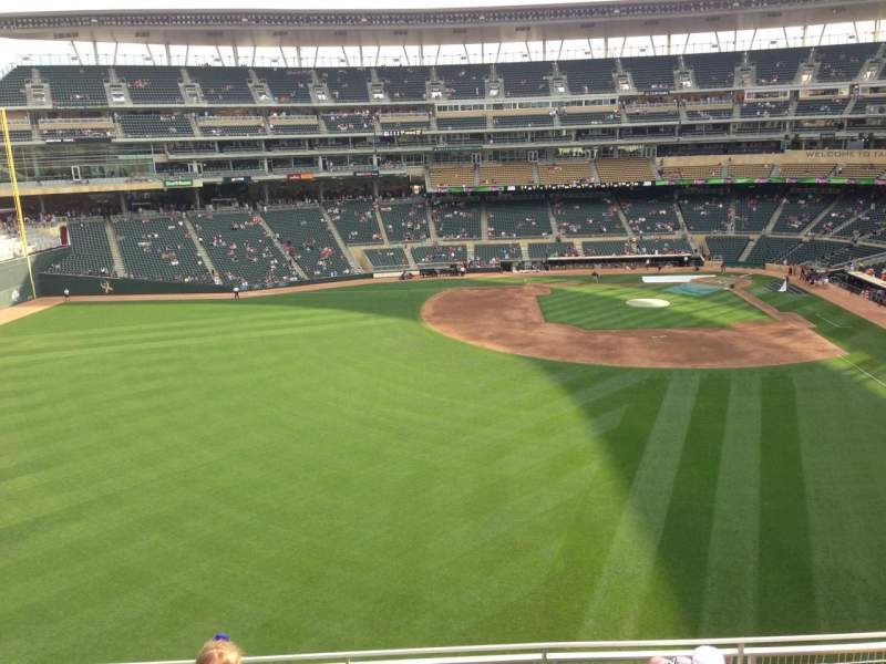 Target Field, section: 331, row: 6, seat: 7