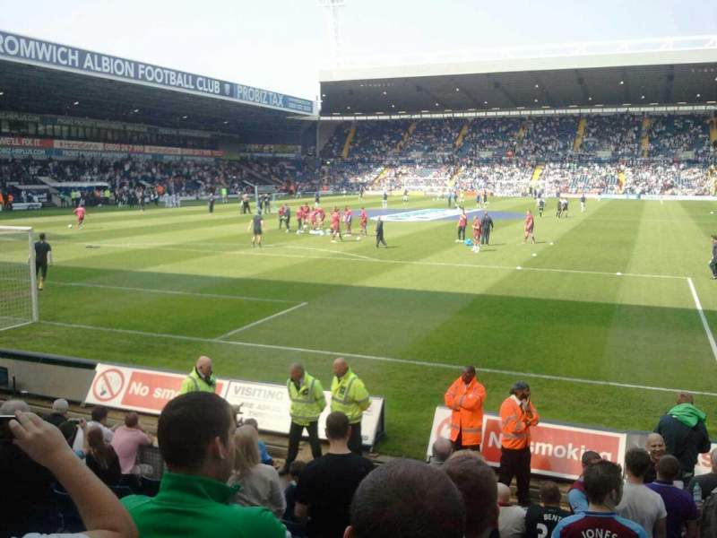 Seating view for The Hawthorns