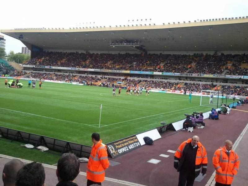 Seating view for Molineux Stadium