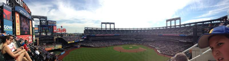 Seating view for Citi Field Section 436 Row 6 Seat 4