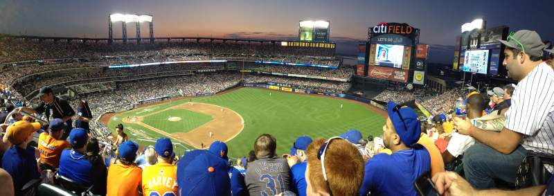 Seating view for Citi Field Section 503 Row 10 Seat 6