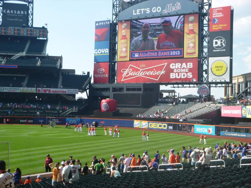 Seating view for Citi Field Section 106