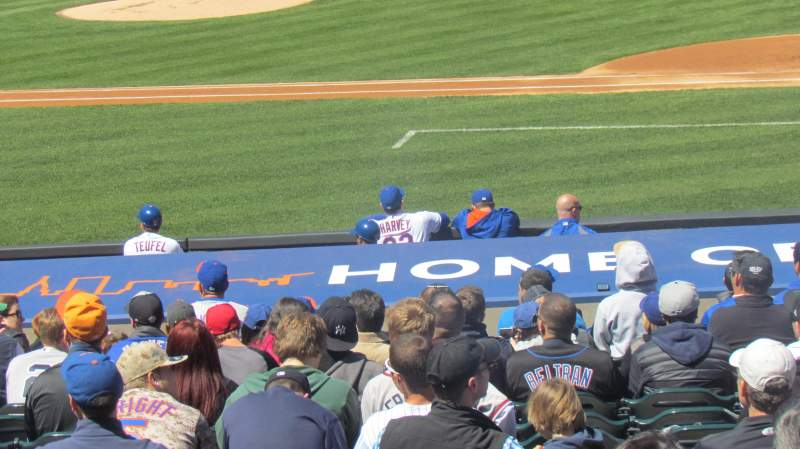 Seating view for Citi Field Section 113 Row 13