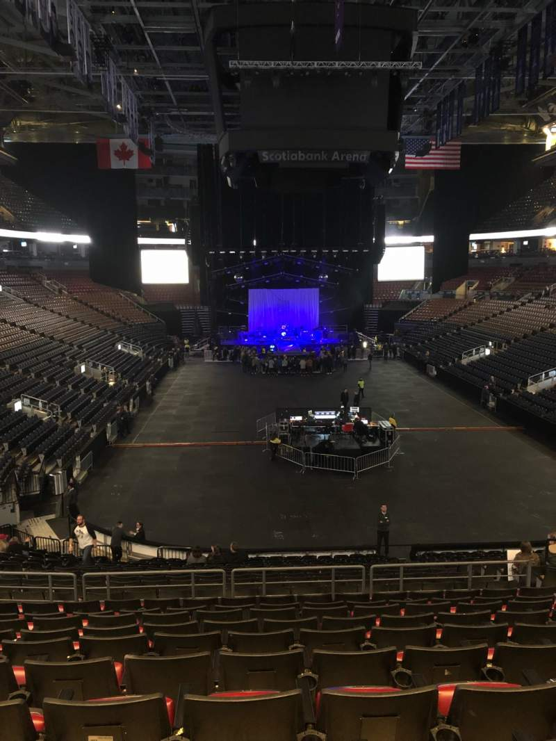 Seating view for Scotiabank Arena Section 103 Row 26 Seat 5