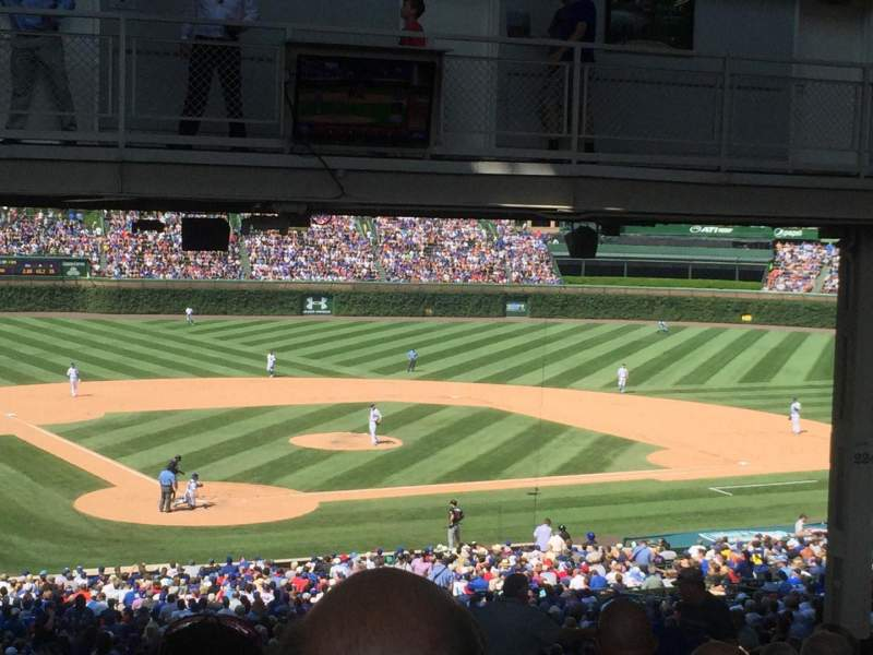 Seating view for Wrigley Field Section Standing Room Only Row SRO Seat N/A