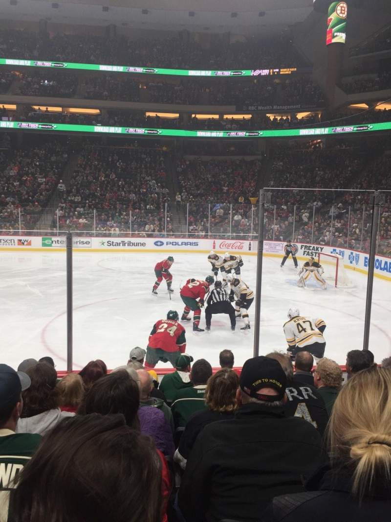 Xcel Energy Center, section: 115, row: 7, seat: 5