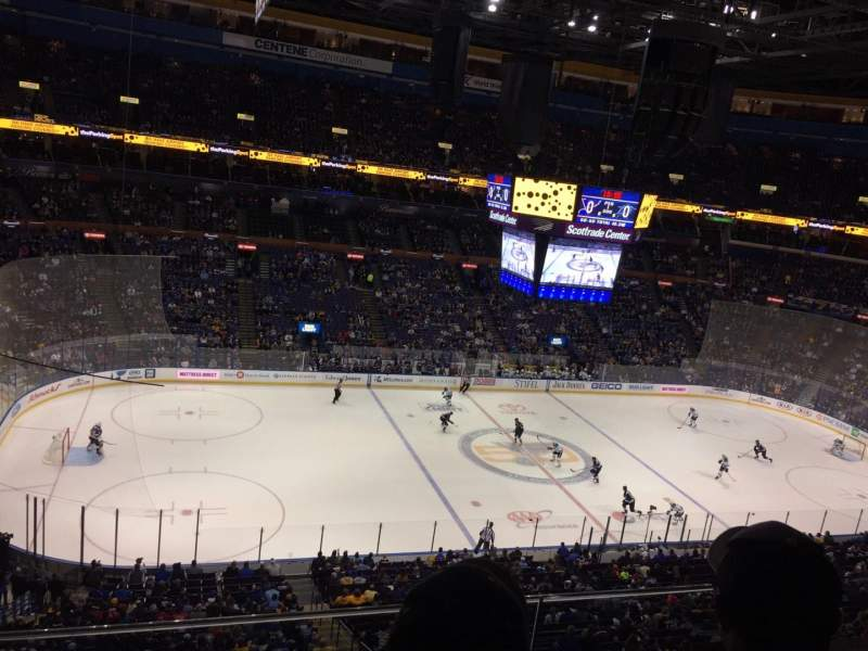 Seating view for Scottrade Center Section 322 Row B Seat 10