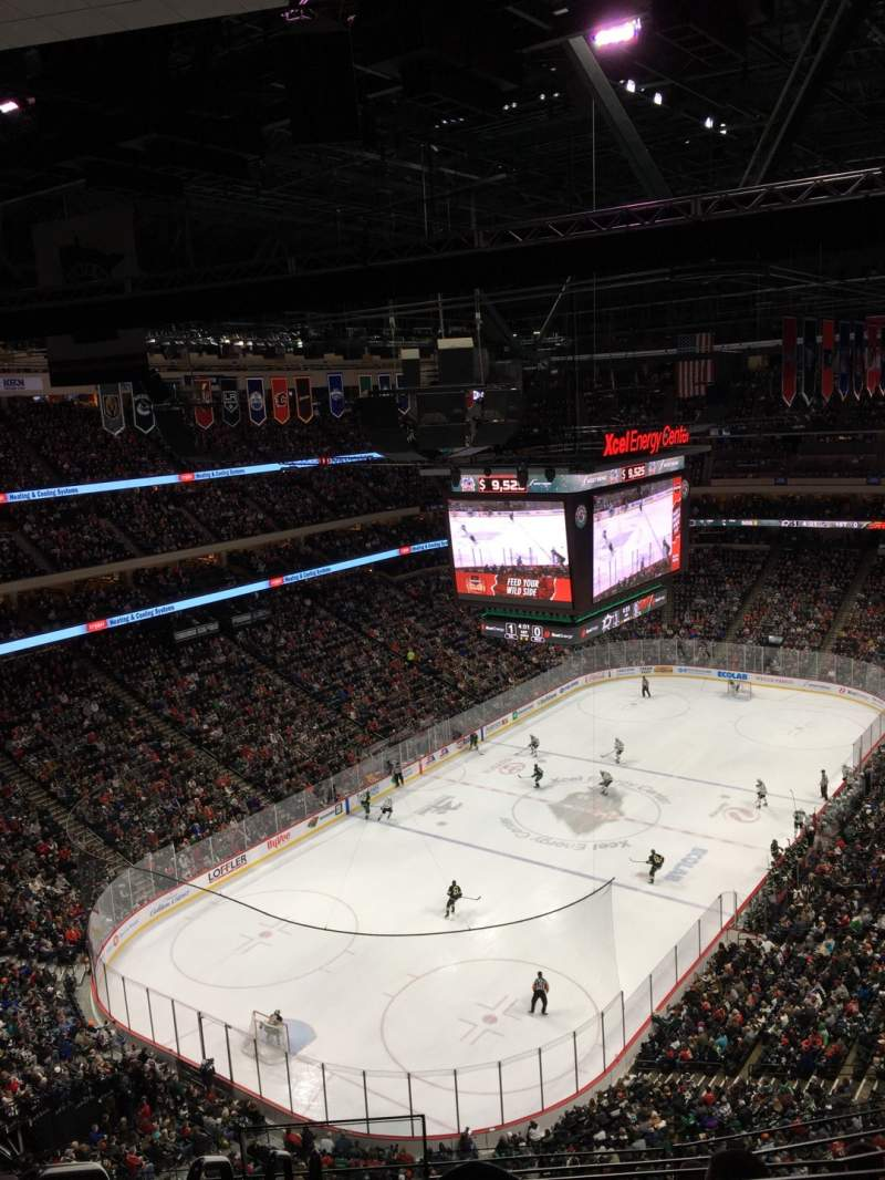 Seating view for Xcel Energy Center Section 223 Row 6 Seat 9