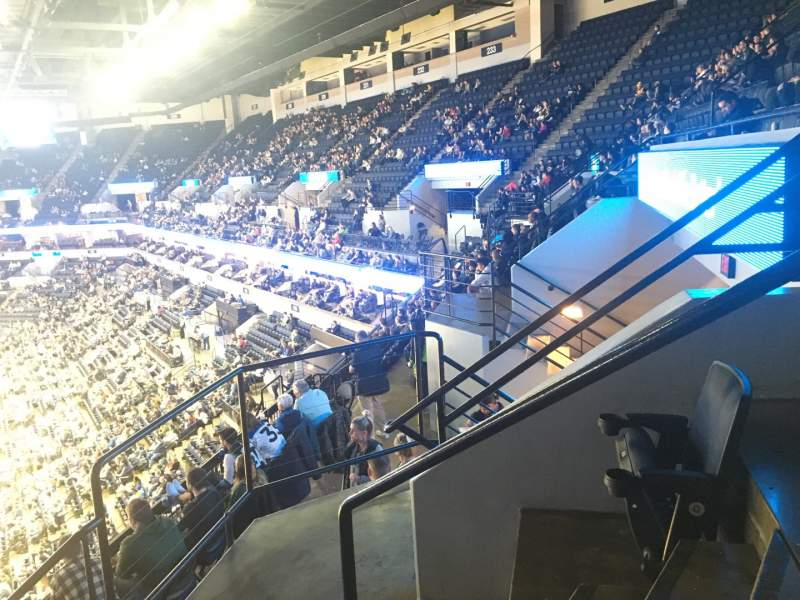 Seating view for Target Center Section 238 Row G Seat 16