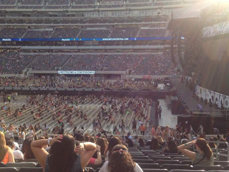 Seating view for MetLife Stadium Section 111A Row 30 Seat 5