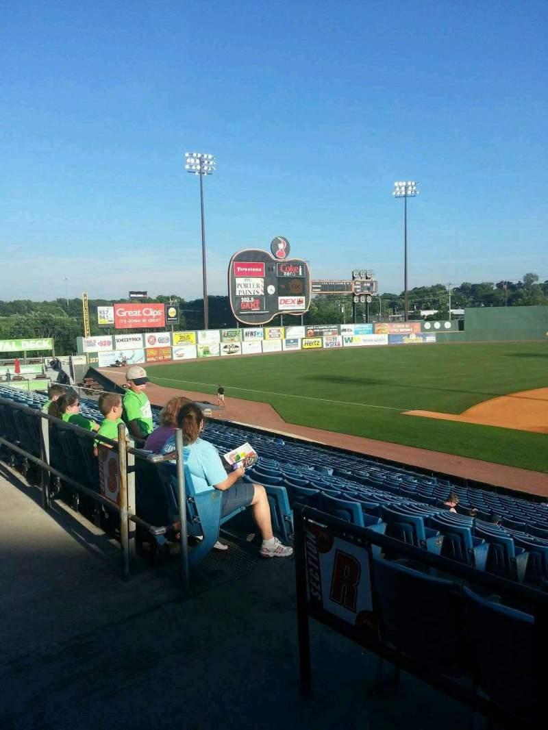 Seating view for Herschel Greer Stadium