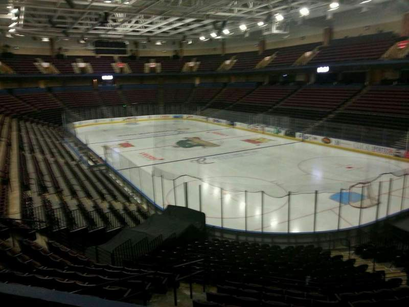 Seating view for Landers Center Section 101 Row z Seat 1