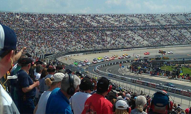 Seating view for Dover International Speedway Section Petty 249 Row 33 Seat 34