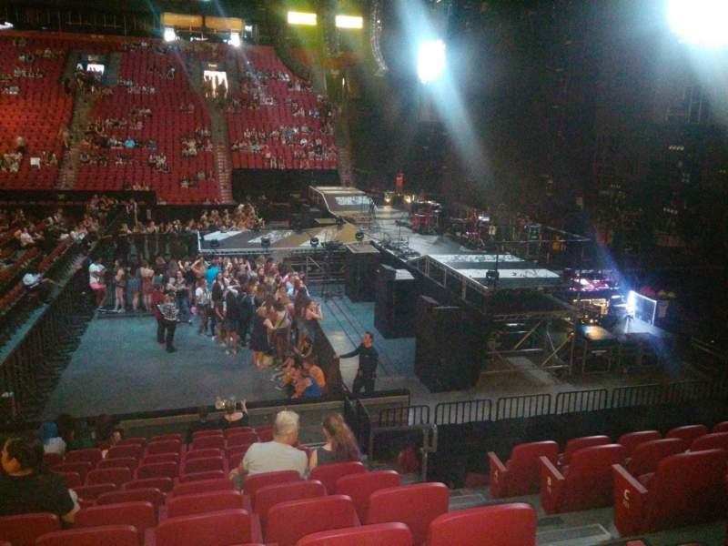Centre Bell, section: 112, row: G, seat: 5