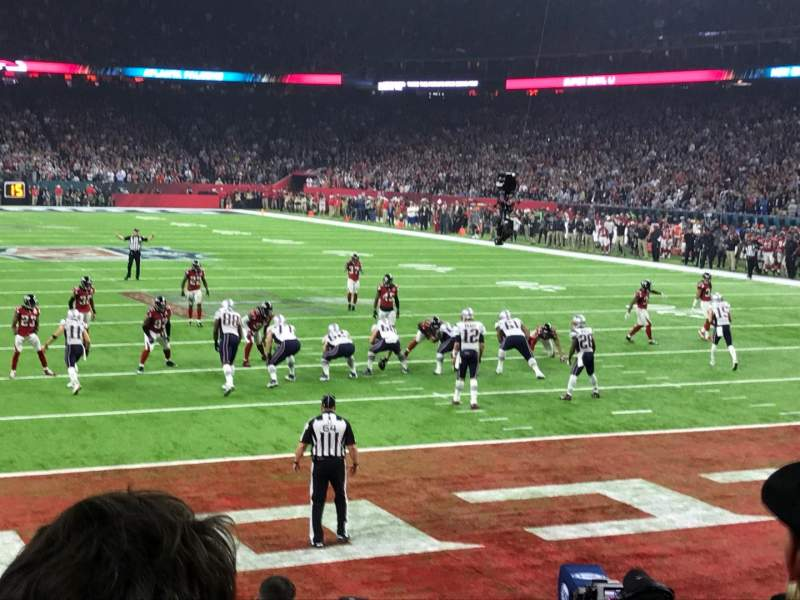 Seating view for NRG Stadium Section 138 Row J Seat 7