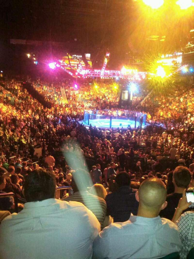 Seating view for MGM Grand Garden Arena Section 3 Row V Seat 15