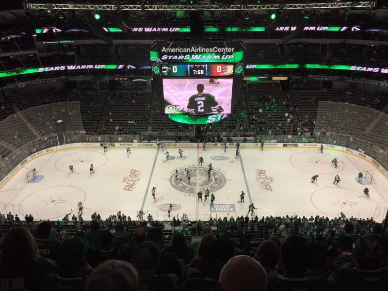 Seating view for American Airlines Center Section 310 Row M Seat 7