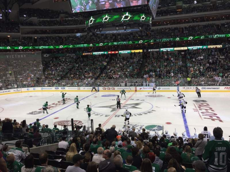 Seating view for American Airlines Center Section 118 Row T Seat 5