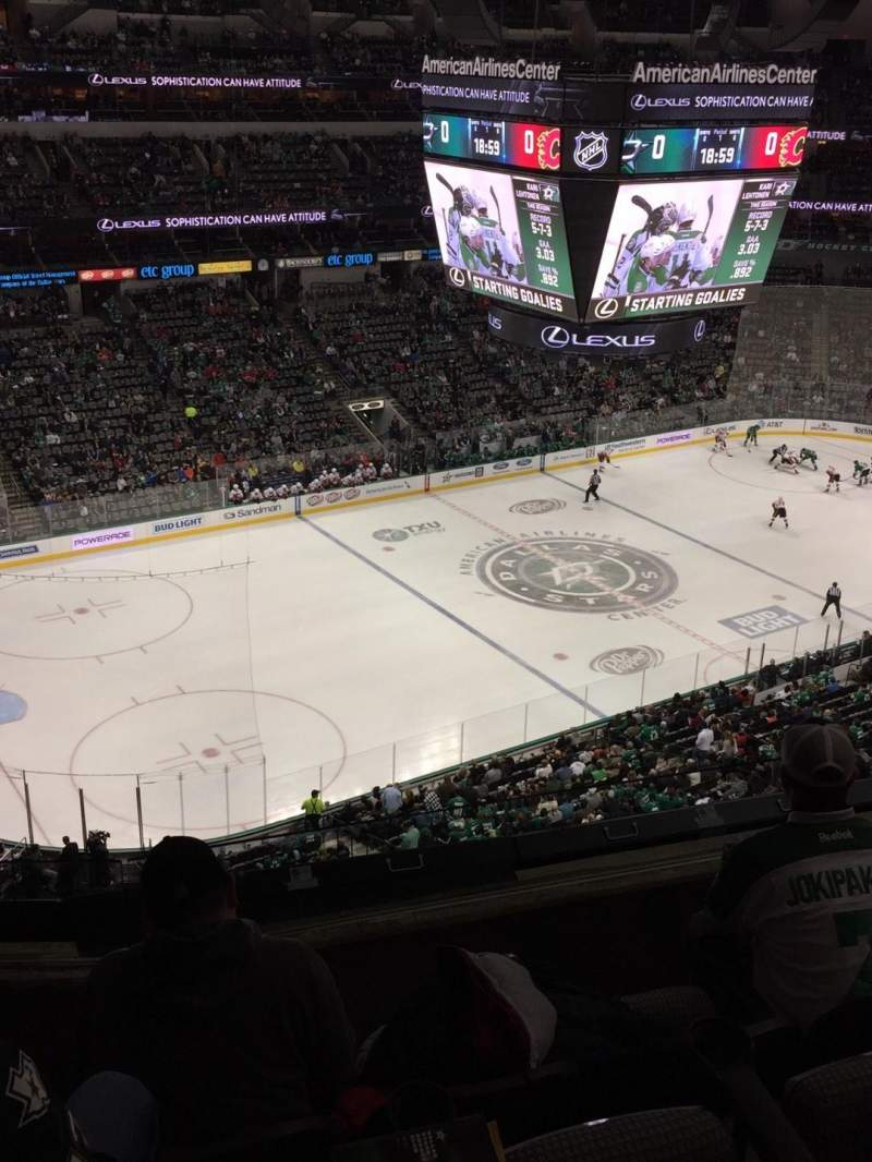 Seating view for American Airlines Center Section 313 Row D Seat 7