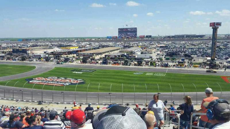 Seating view for Texas Motor Speedway Section 115 Row 43 Seat 16