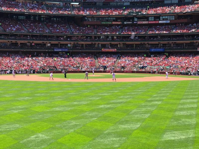 Seating view for Busch Stadium Section 195 Row 5 Seat 15