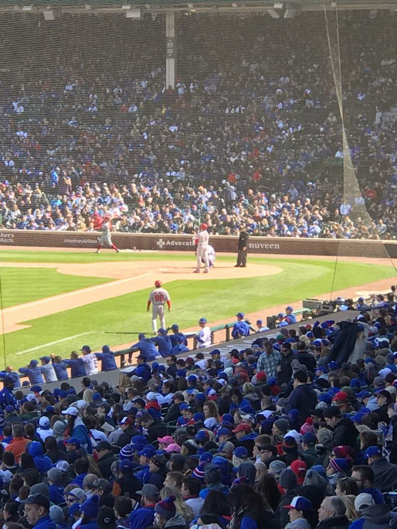 Seating view for Wrigley Field Section 204 Row 12 Seat 3