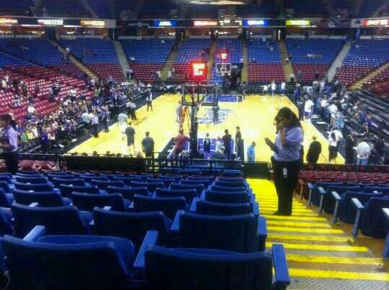 Seating view for Sleep train Arena Section 120 Row T Seat 11