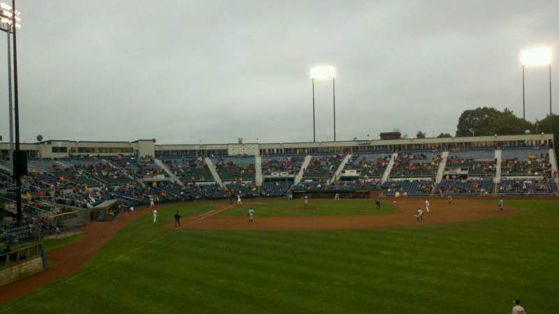 Seating view for Hadlock Field Section 502 Row c Seat 1