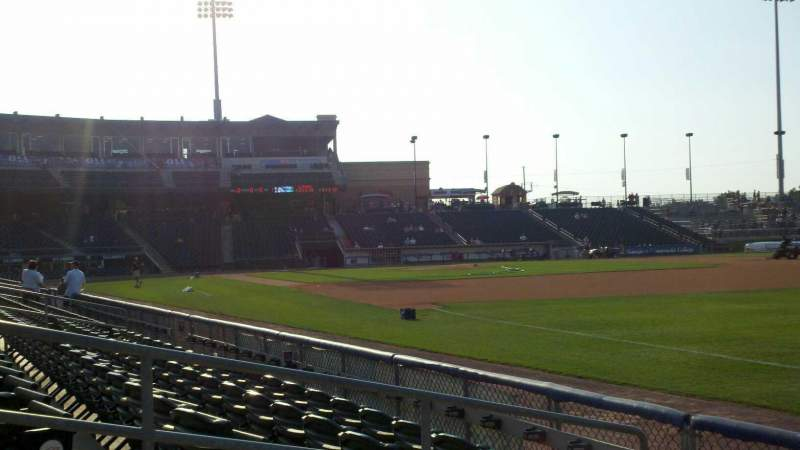 Seating view for Coca-Cola Park Section 102 Row e Seat 6