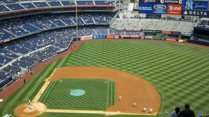 Seating view for Yankee Stadium Section 416 Row 13 Seat 9