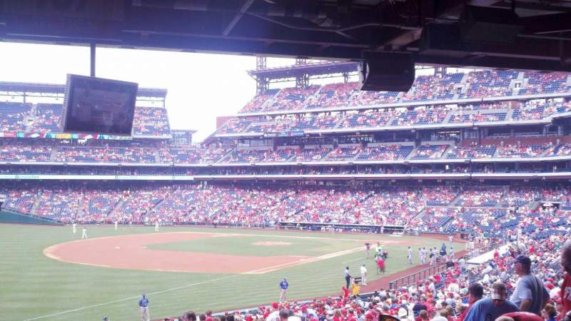 Seating view for Citizens Bank Park Section 137 Row 40 Seat 10