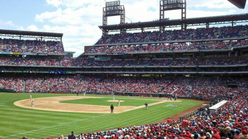 Seating view for Citizens Bank Park Section 137 Row 36 Seat 18