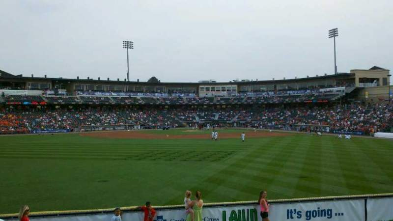 Seating view for Coca-Cola Park Section Lawn