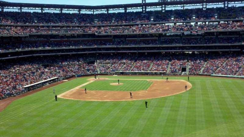 Seating view for Citizens Bank Park Section 202 Row 11 Seat 10