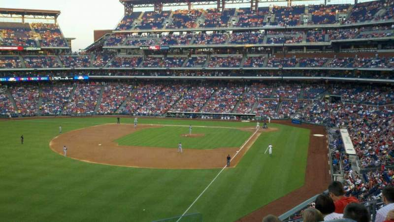 Seating view for Citizens Bank Park Section 237 Row 5 Seat 3