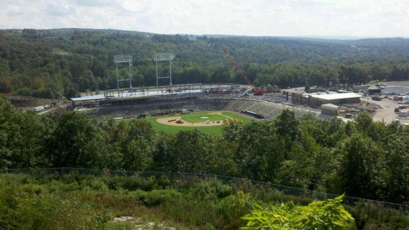 Seating view for PNC Field