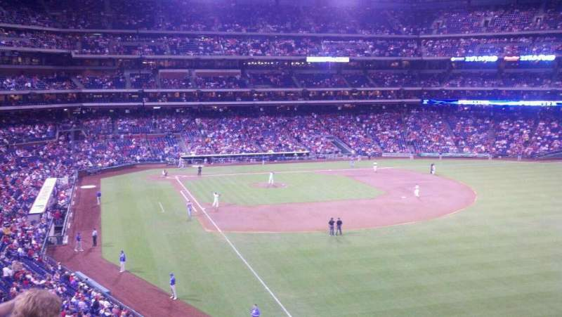 Seating view for Citizens Bank Park Section 207 Row 3 Seat 4