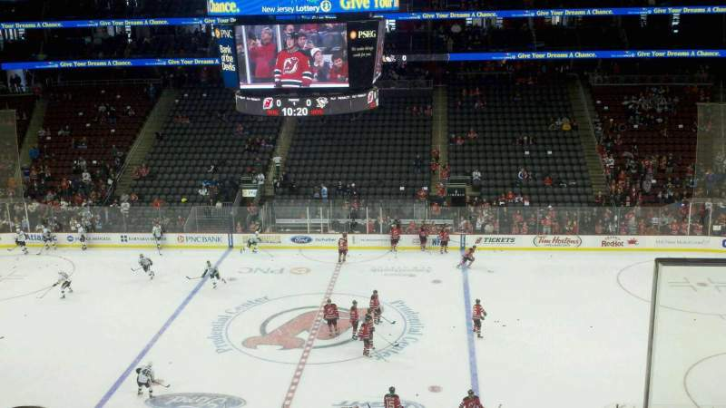 Seating view for Prudential Center Section suite 210 Row b Seat 5