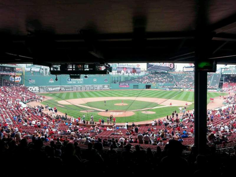 Fenway Park Section Grandstand 20 Home Of Boston Red Sox
