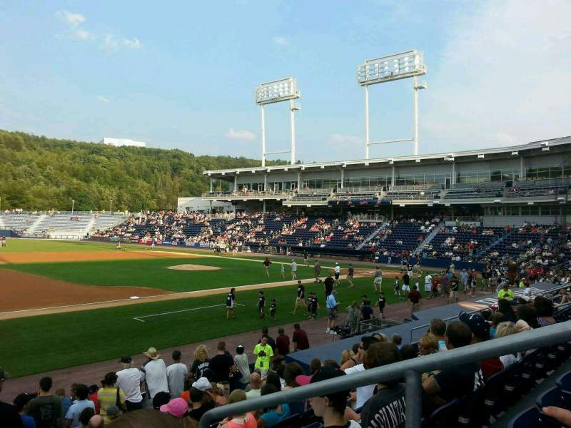 Seating view for PNC Field Section 28 Row 9 Seat 1